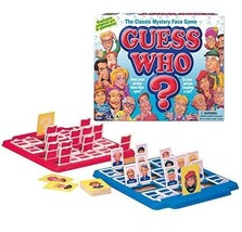 Guess Who Board Game The Classic Mystery Face Game 2 Players - $21.28