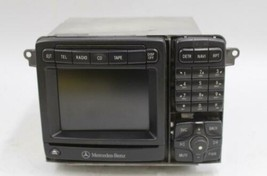 2000-2006 MERCEDES CL500 W215  AM/FM RADIO NAVIGATION CD PLAYER RECEIVER... - $128.69