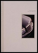 1993 Mercedes-Benz S SL Class Original Prestige Brochure 600 - $11.07