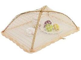 Black Temptation Kitchen Supplies Lace Rectangle Cover Foldable Food Cov... - $17.64