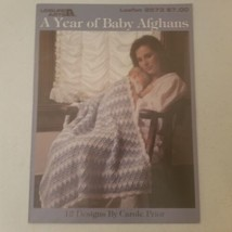 A Year of Baby Afghans Leisure Arts 2573 12 Designs - $9.48