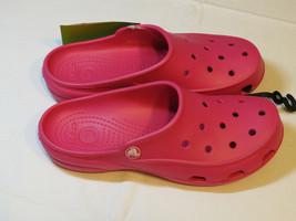 Crocs Mujer Freesail Rosa Caramelo Obstruir la Mula 200861-6X0 con 7 W7 ... - $29.93