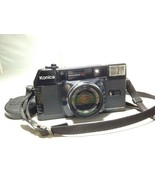 VTG Konica Minolta C35 MF Focus Hexanon 38mm F2.8 Lens 35mm Film Camera ... - $99.99
