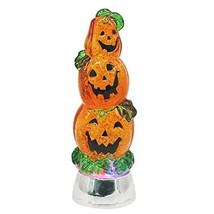 Wondise Halloween Pumpkin Lighted Snow Globe Battery Operated with 6 Hour - $46.16