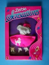 1987 BARBIE & the SENSATIONS BARBIE POP STAR POODLE SKIRT FASHION 4978 NRFB - $44.55