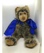 "Build A Bear Workshop Grizzly 16"" Plush Brown Long Hair BABW 1997 - $9.89"