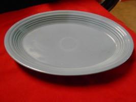 "Beautiful FIESTA Pottery ""Blue"" PLATTER....9.5"" x 13.5"" - $11.22"