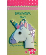 Unicorn Needleminder cross stitch needle accessory - $7.00