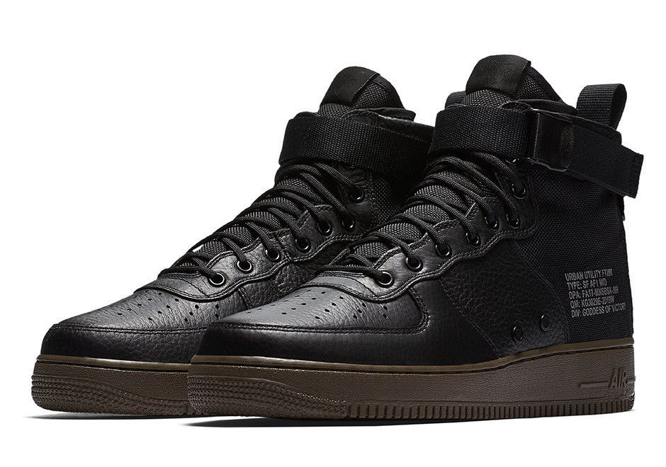 wholesale dealer aafd6 a4ec3 Nike Special Field Air Force 1 Mid Black and similar items. 57