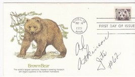 AL ATKINSON NEW YORK JETS AUTOGRAPHED US FIRST DAY COVER NFL - £3.88 GBP