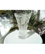 "Elegant Crystal Decorative Vase 10"" Tall - $29.70"