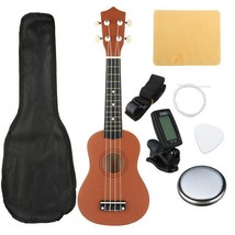 "Basswood Ukulele Set 21"" Soprano Tone Bass Musical Instruments Kit Xmas ... - $45.53"