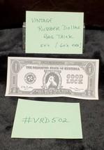 Vintage Magic TRICK / GAG RUBBER STRETCH DOLLAR BILL ENO 1950'S - 60'S  ... - $9.90