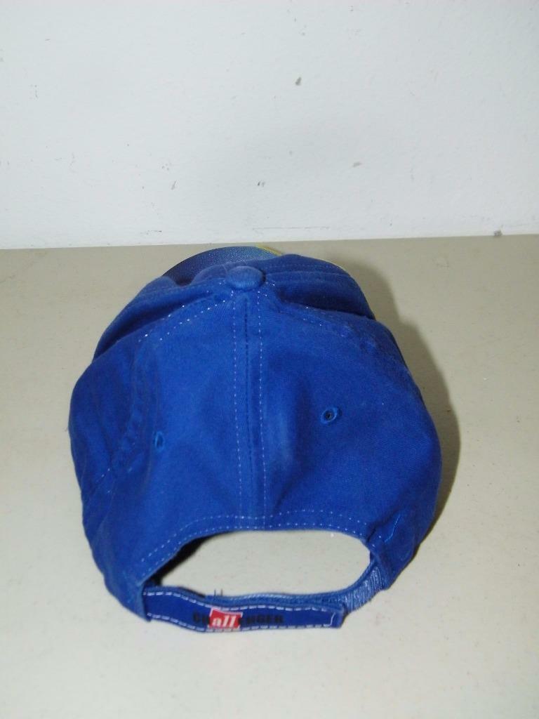Blue Challenger British Soccer Baseball Cap Hat Ball 14605 image 3