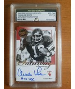 2008 Press Pass Legends Saturday Signatures #SS-CW Charles White Auto Gr... - $19.80