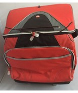 IGLOO Red And Black Soft Insulated Rolling Cooler Bag Portable Outdoor C... - $59.99