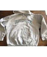 Washington University Vintage USA Champion Reverse Weave Sweatshirt Hood... - $40.84