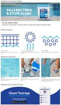 "Clorox Pool&Spa XtraBlue 3"" Chlorinating Tablets for Swimming Pools, 25lb image 7"
