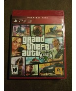 Grand Theft Auto V GTA 5 - Sony PlayStation 3 PS3 Greatest Hits RED Cove... - $26.13