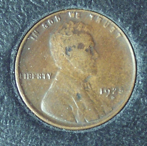 1925-D Lincoln Wheat Back Penny EF40 #1158 image 3