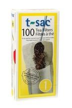 T-Sac Tea Filter Bags, Disposable Tea Infuser, Number 1-Size, 1-Cup Capa... - €7,61 EUR