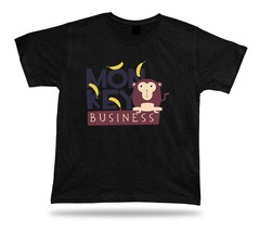 Monkey business awesome cool stylish modern t shirt tee design gift apparel - $7.57