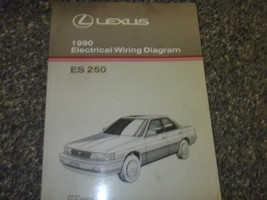 1990 Lexus ES250 es 250 Elektrisch Wiring Service Shop Manuell OEM Ewd 90 - $33.60