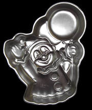 Wilton Cake Pan PARTY CLOWN Balloon 502-3193 1981 - $10.95