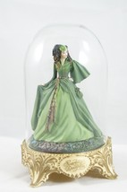 """Franklin Mint """"Gone with the Wind"""" Scarlett's Deception with glass dome ... - $18.87"""