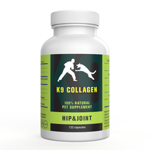 K9 Collagen 100% Natural Pet Supplement for Hip and Joint 120 Capsules - $88.83