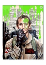 Art N Wordz Ghostbuster Slim Dictionary Page Pop Art Print Poster - $21.00