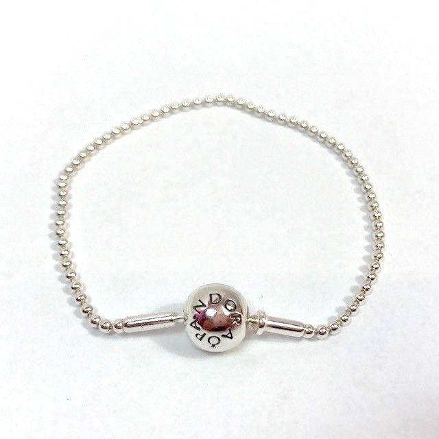 3a3581471 Authenthisch Pandora Sterlingsilber Essence Perlenbesetzt 18cm Armband, 596002-18