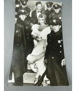 1966 Actress Brigitte Bardot with uniform men press photo 9 x 5.5 - $44.55