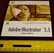 ADOBE ILLUSTRATOR 5.5 MAC includes original package - $17.33