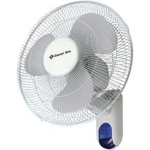 """Comfort Zone 16"""" Wall-mount Fan HBCLCZ16WR - $65.52"""