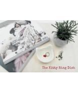 Ring dish / Cat wedding gift / Valentine day gift / wedding favor / brid... - $12.50