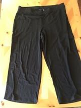 D&co Jeans & Company Plage Coton Noir Mélange Pantalon, Femmes Taille 22XP - $14.94
