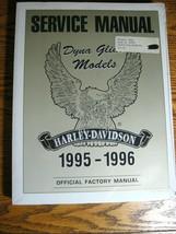 1995 1996 Harley-Davidson Dyna-Glide Service Manual Low Rider Super Glide NEW - $103.95