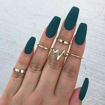 2018 new fashion popular ECG women's ring 5 piece set ring wholesaleWome... - $2.67 CAD