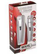 Wahl Mustache & Beard Battery Trimmer Kit With Bonus Nose Trimmer Model ... - $9.80