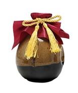 Panda Legends 16-oz Ceramic Empty Wine Bottle Retro Brown Wine Jar Chine... - $18.92