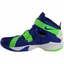 Nike Lebron IX 9 Soldier Sprite Game Blue/Green 749417-601 Mens Basketball image 4