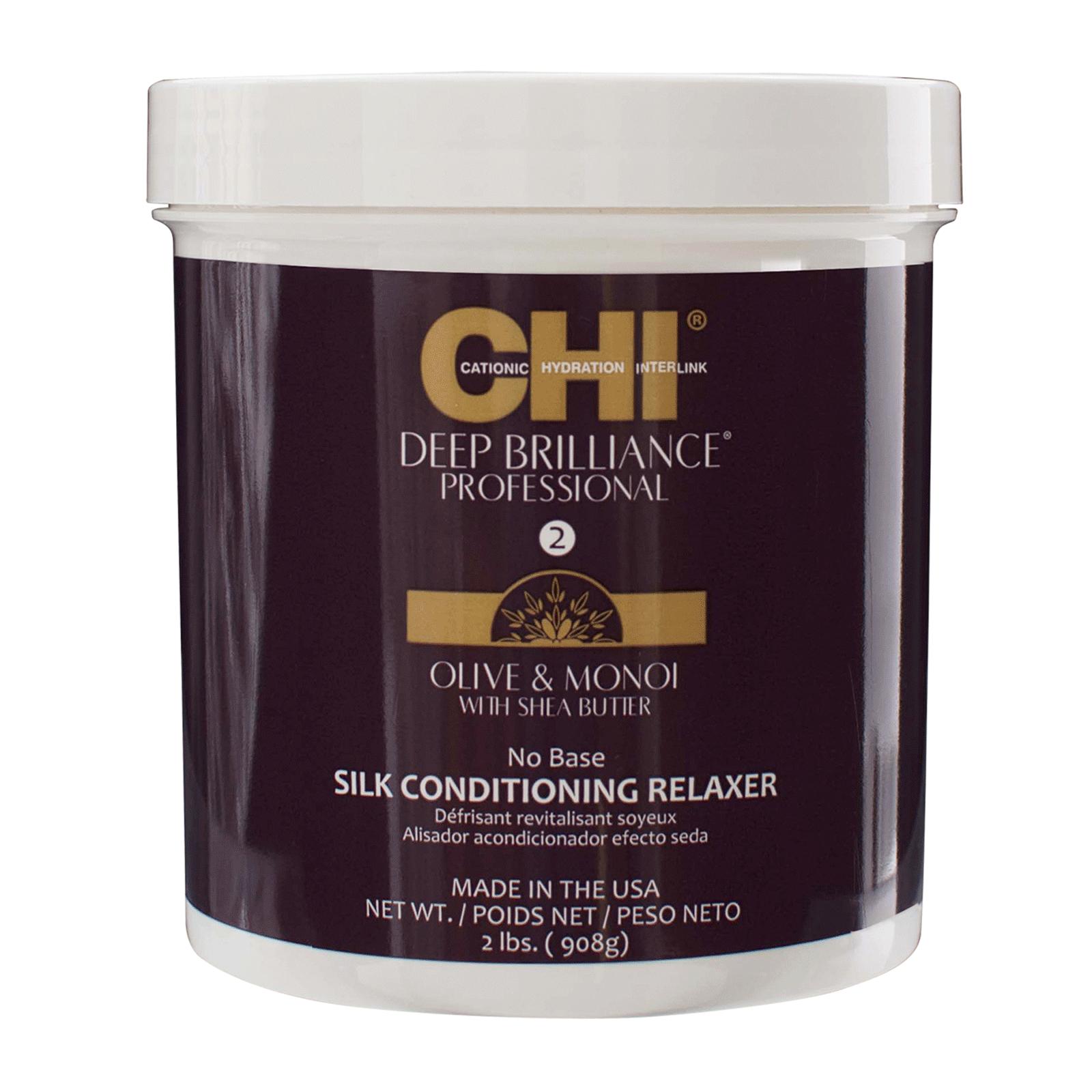 Farouk CHI Deep Brilliance - Silk Conditioning Relaxer  2lb