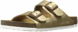 Jambu Women's Woodstock Slide Sandal 8.5 Bronze - $64.24