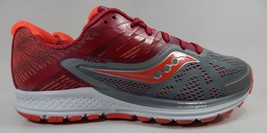 Saucony Ride 10 Running Shoes Women's Size US 10 M (B) EU 42 Silver Red S10373-2