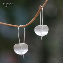925 sterling silver alloy earring retro simple fashion - $8.95