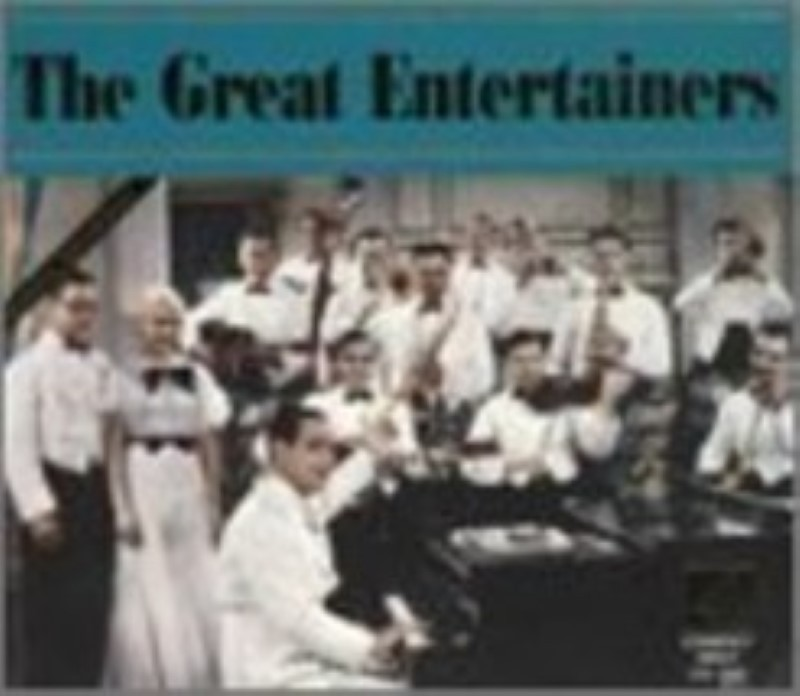 The Great Entertainers by Various Artists Cd