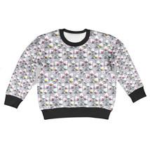 Subtle Flowers on Grey Kids Sweatshirt - $42.99+