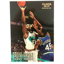 Shareef Abdur-Rahim 1996-97 Fleer  Rookie Card #262 NBA Grizzlies - $1.93