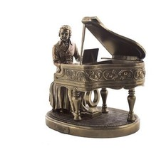 Religious Gifts Classical Composer Wolfgang Amadeus Mozart with Piano 8 ... - $112.02
